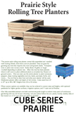 Cube Series Prairie Style Rolling Planter Brochure